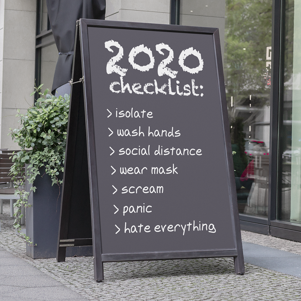 2020 Checklist